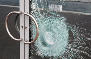 Laminated Security Glass Repair
